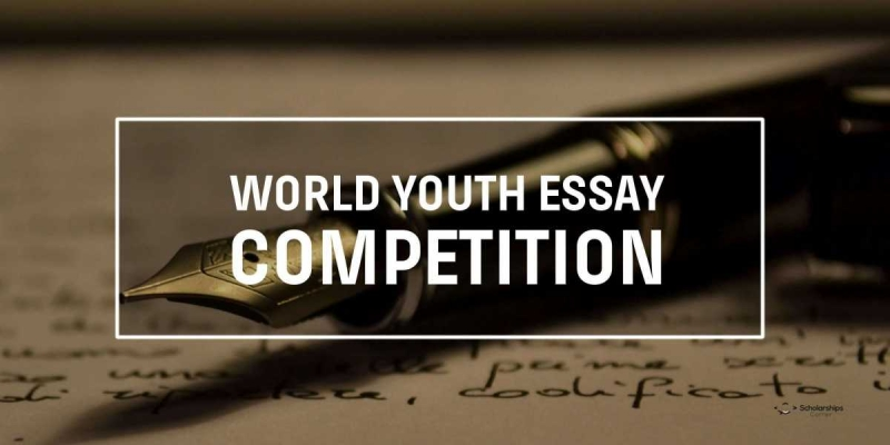 Natječaj: World Youth Essay Competition 2018 !!